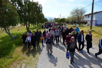 """Antalya'da """"Bahar Yürüyüşü"""""""
