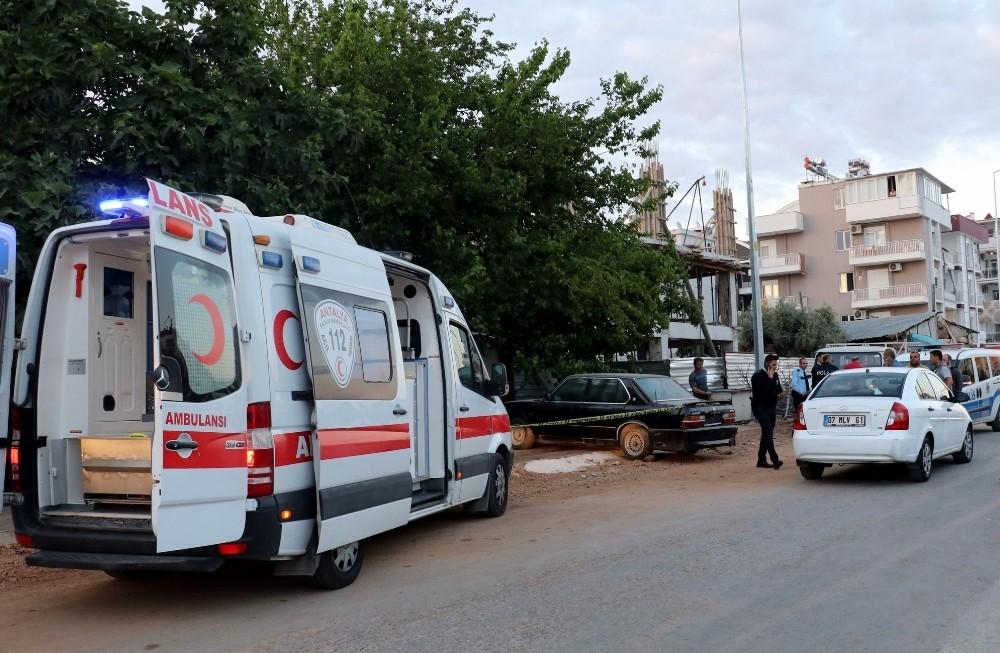 Antalya'da bozuk otomobil cinayeti