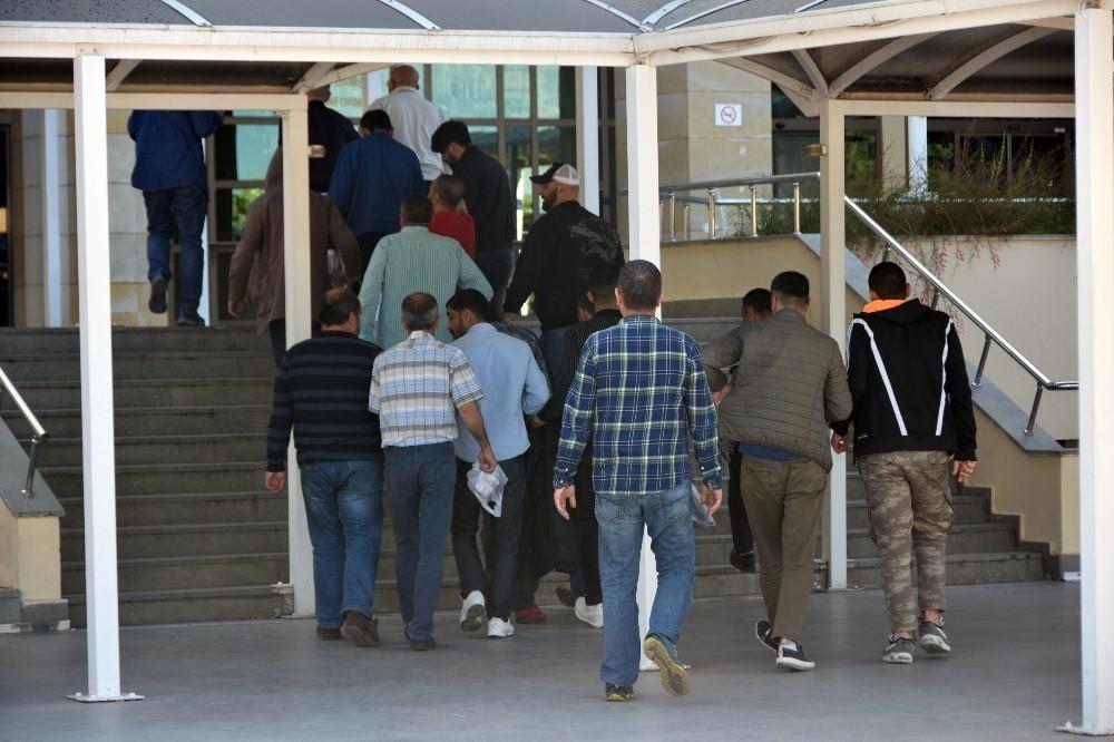 Antalya'da gözaltına alınan 60 şüpheliden 42'si tutuklandı