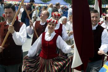 Antalya'da Letonya'nın 100. yıl dönümü kutlandı