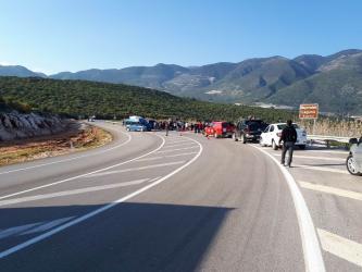 Antalya'da öğrencilerin otostopu acı bitti