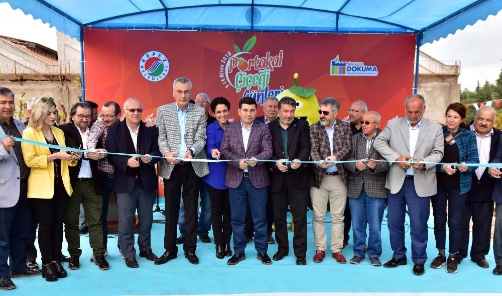 """Antalya'da """"Portakal Çiçeği Günleri"""""""