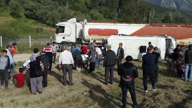 Antalya'daki trafik kazası
