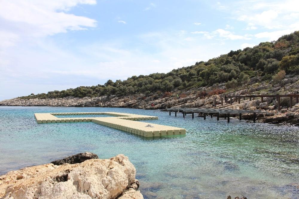 Antalya'nın 3'üncü kadınlar plajı yaz sezonuna kadar hazır olacak