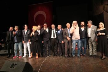Antalya'nın altın çocukları konserle anıldı