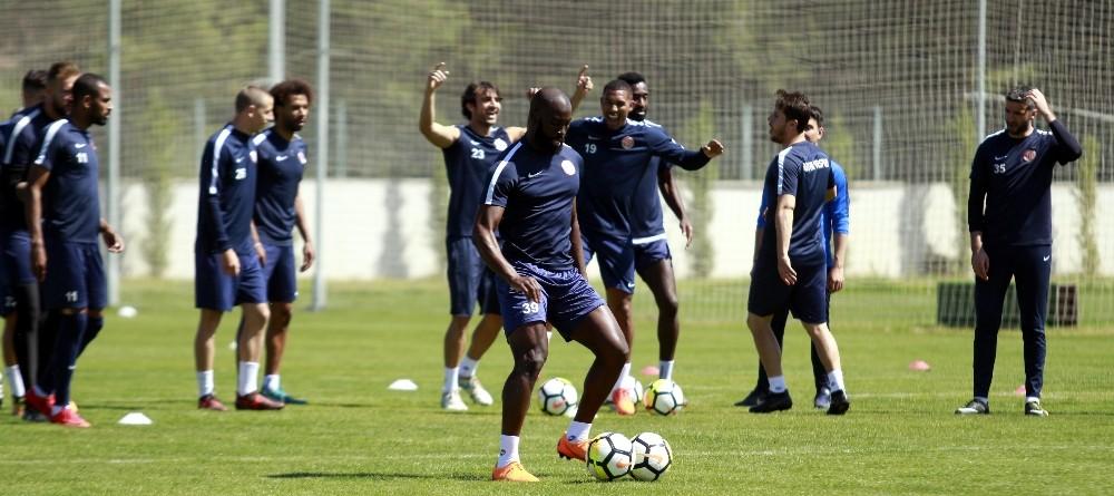 Antalyaspor, Karabükspor hazırlıklarını tamamladı