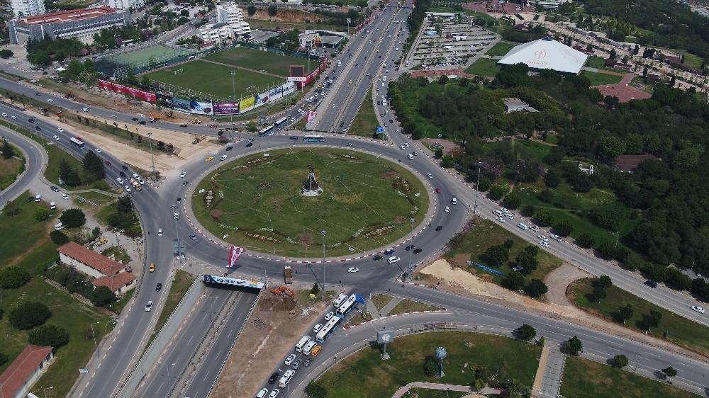 Antalyaspor Kavşağı'na düzenleme