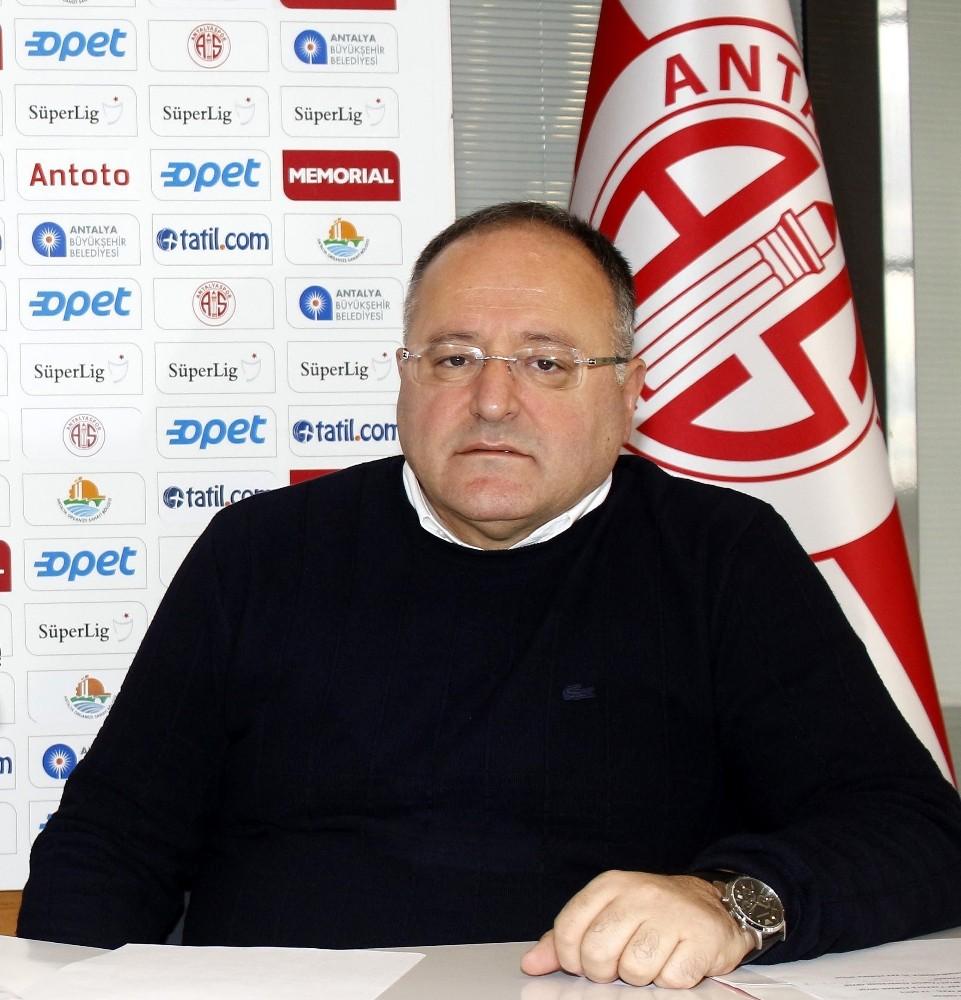Antalyaspor'dan, hakem Bülent Yıldırım'a büyük tepki