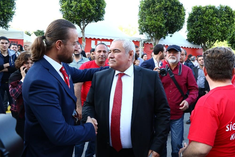 ATSO seçimlerini mevcut Başkan Davut Çetin'in kırmızı listesi kazandı