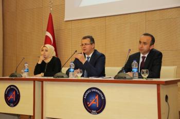 AÜ'de YLSY Tanıtım Toplantısı düzenlendi