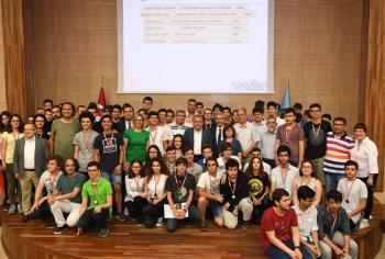 Başkan Böcek'e Matematik Olimpiyatları teşekkürü