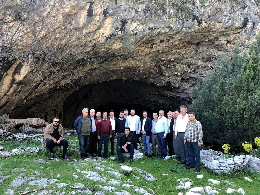 Başkan Genç, Kocain Mağarası'nda incelemelerde bulundu