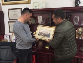 Başkan Yücel, Mahalle Muhtarları ile Makedonya'da