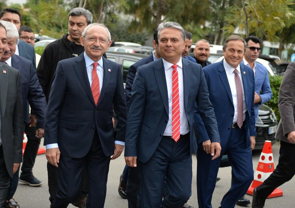 CHP Lideri Kılıçdaroğlu Muratpaşa'ya geliyor