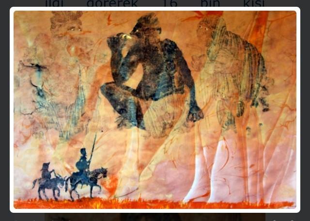 'Don Kişot'un İzleri' Antalya'da