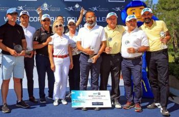 Dünya Kurumsal Golf Turnuvası 2018'in şampiyonları belli oldu