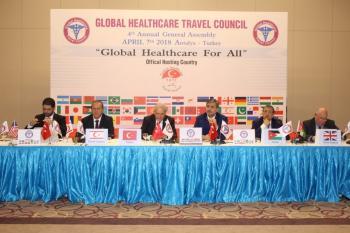 Dünya sağlık turizminin kalbi Antalya'da attı