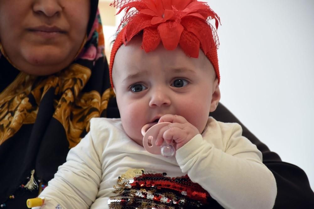 Dünyada sadece 10 kişide bulunan hastalığa kapılan minik bebek şifayı Alanya'da buldu