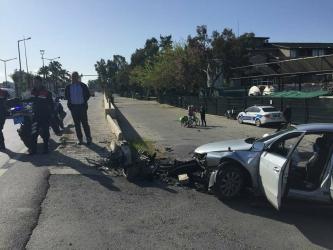 'Dur' ihtarına uymayıp kaçan sürücü kaza yaptı