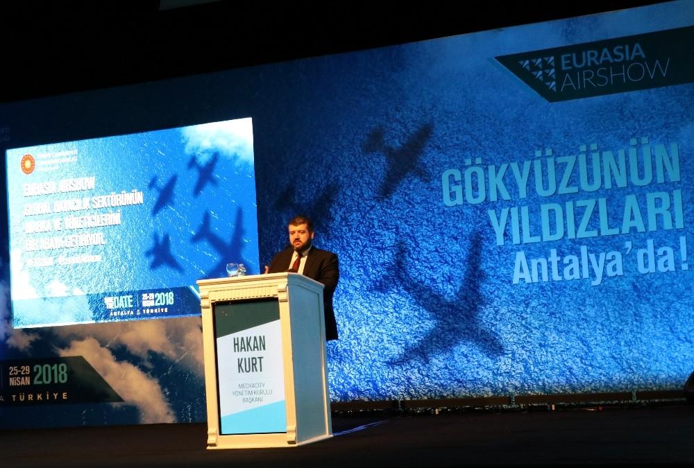 Euroasia Airshow Antalya'da başlıyor
