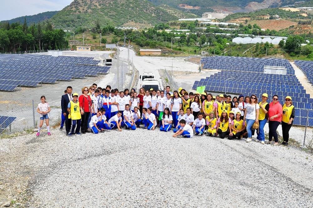 Güneş Enerji Santrali'ne yoğun ilgi