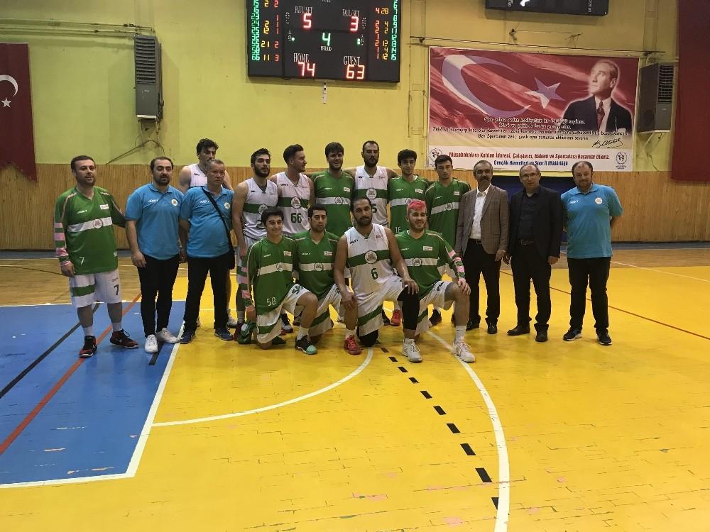 Isparta Belediyesi Basketbol Takımından ilk galibiyet