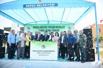 Kepez Belediyesi Duacı Sosyal Yaşam Merkezi'nin temeli atıldı