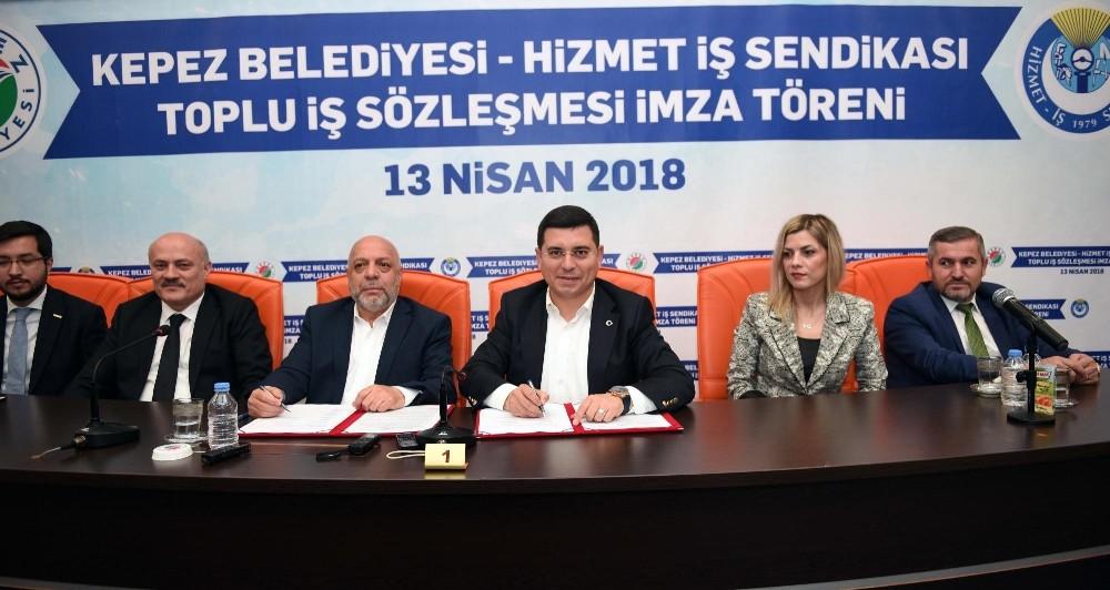Kepez'de toplu sözleşme heyacanı