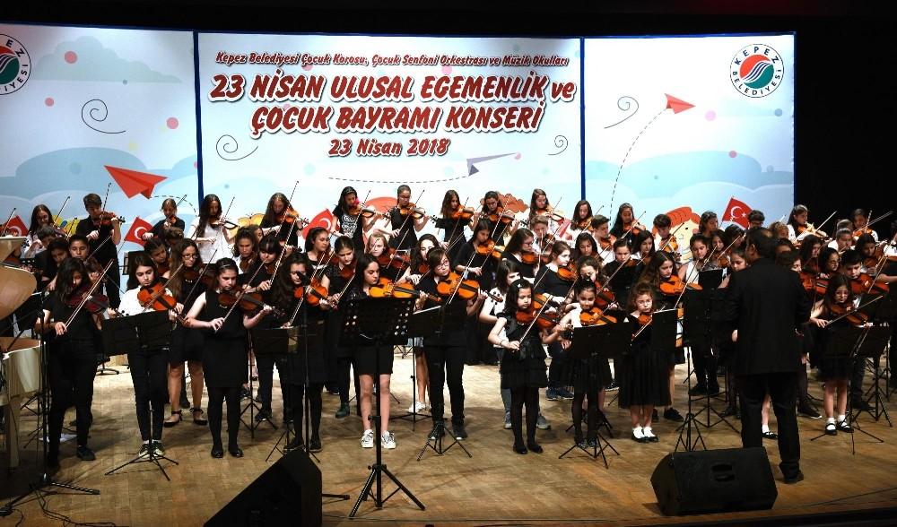 Kepezli çocuklardan 23 Nisan konseri