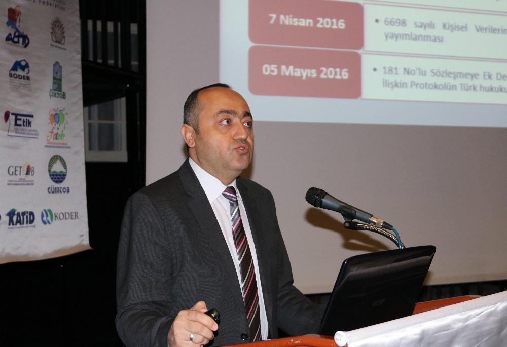 Kişisel Verileri Koruma Kurumu Daire Başkanı Mustafa Erbilli: