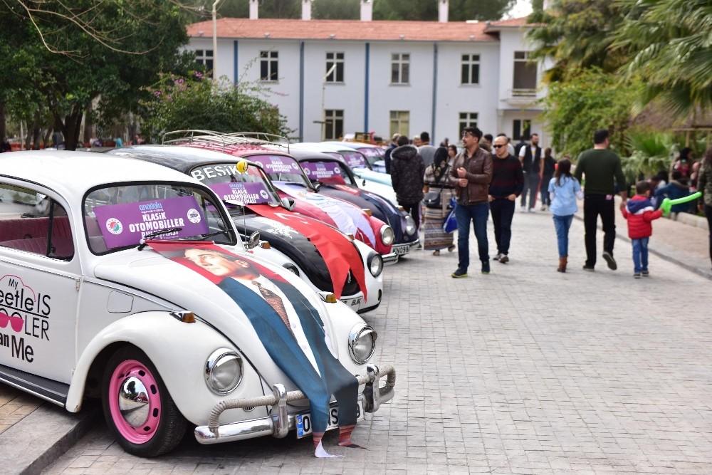 Klasik otomobiller Kepez'de buluşuyor