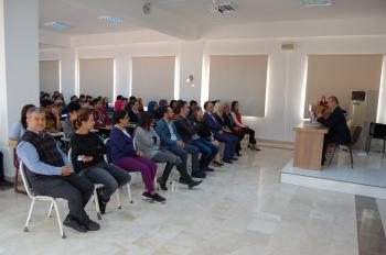 Kumluca Meslek Yüksekokulu'nda girişimcilik semineri gerçekleştirildi