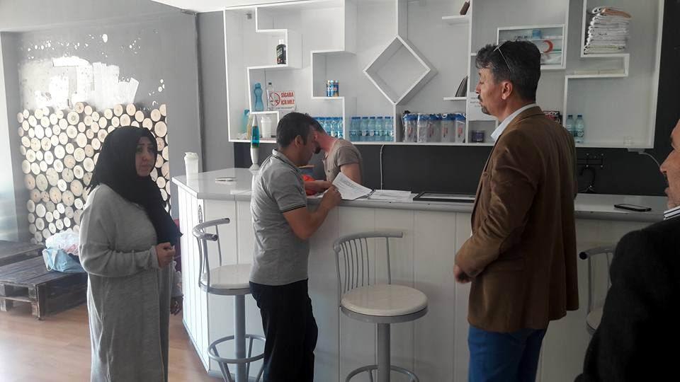Kumluca'da Spor Tesisleri denetlendi