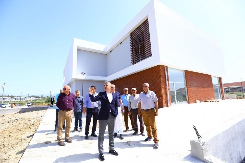 Manavgat Cem Kültür Merkezi inşaatı tamamlandı