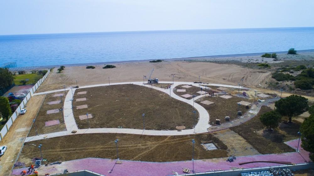 Manavgat'a deniz manzaralı mesire alanı