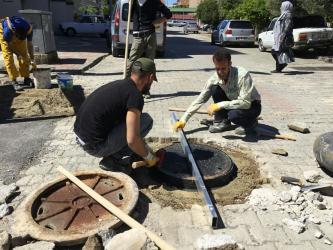 Manavgat'ta bin 500 kanalizasyon kapağı elden geçecek