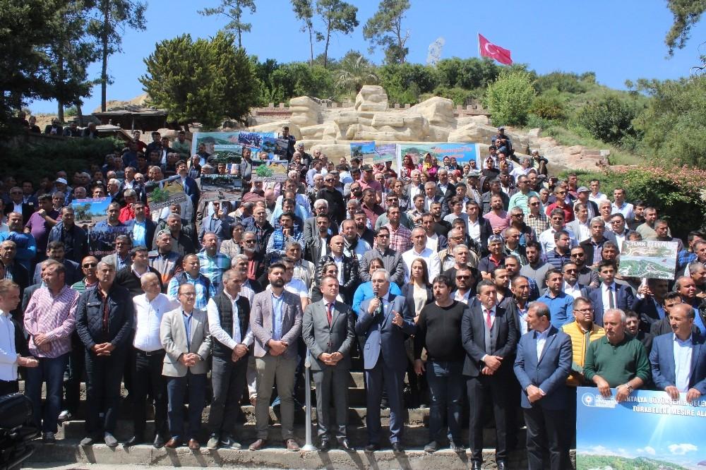 Manavgat'ta Türkbeleni projesi tartışması