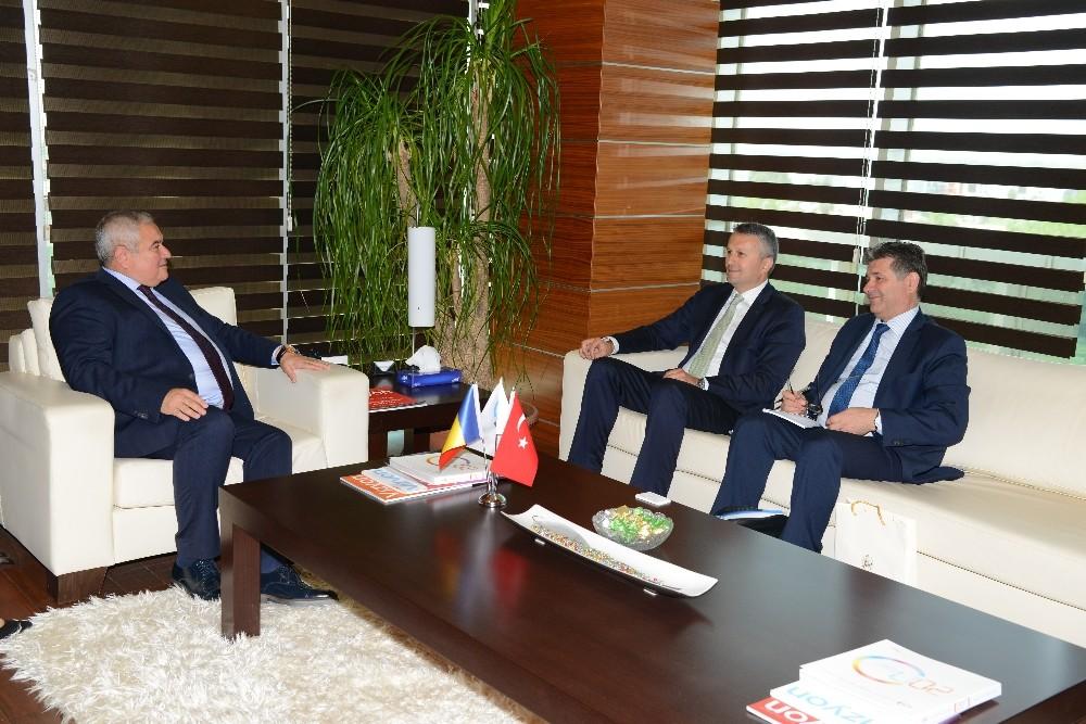 Romanya Büyükelçisi Şopanda, ATSO'da