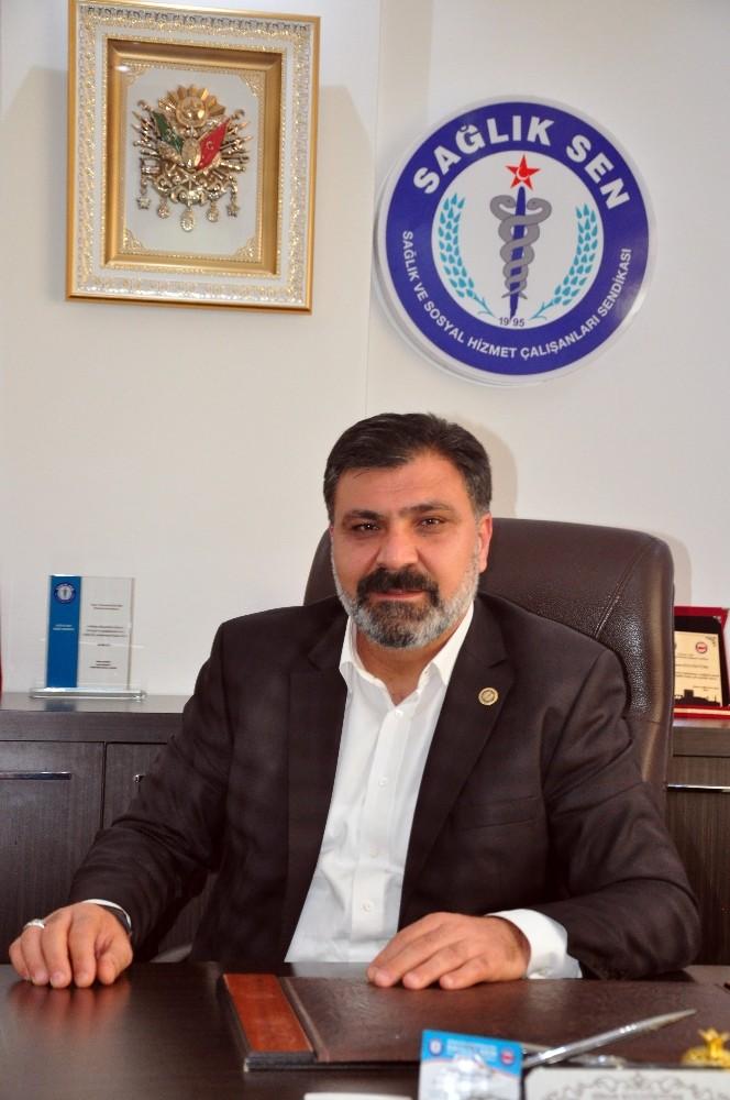 Sağlık Sen Antalya Şube Başkanı Kuluöztürk'ten kandil mesajı