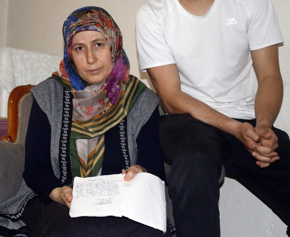 Şehit annesi oğlunun vasiyetinin yerine getirilmesini istiyor