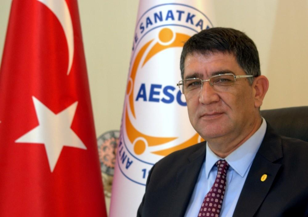 AESOB Başkanı Dere'den 19 Mayıs Mesajı
