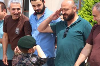 Afrin'de görev yapan 23 PÖH Antalya'ya döndü