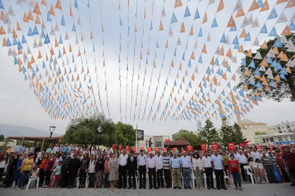 AK Parti Demre SKM'nin açılışı yapıldı