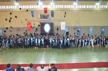 Akseki Meslek Yüksekokulu'nda mezuniyet töreni