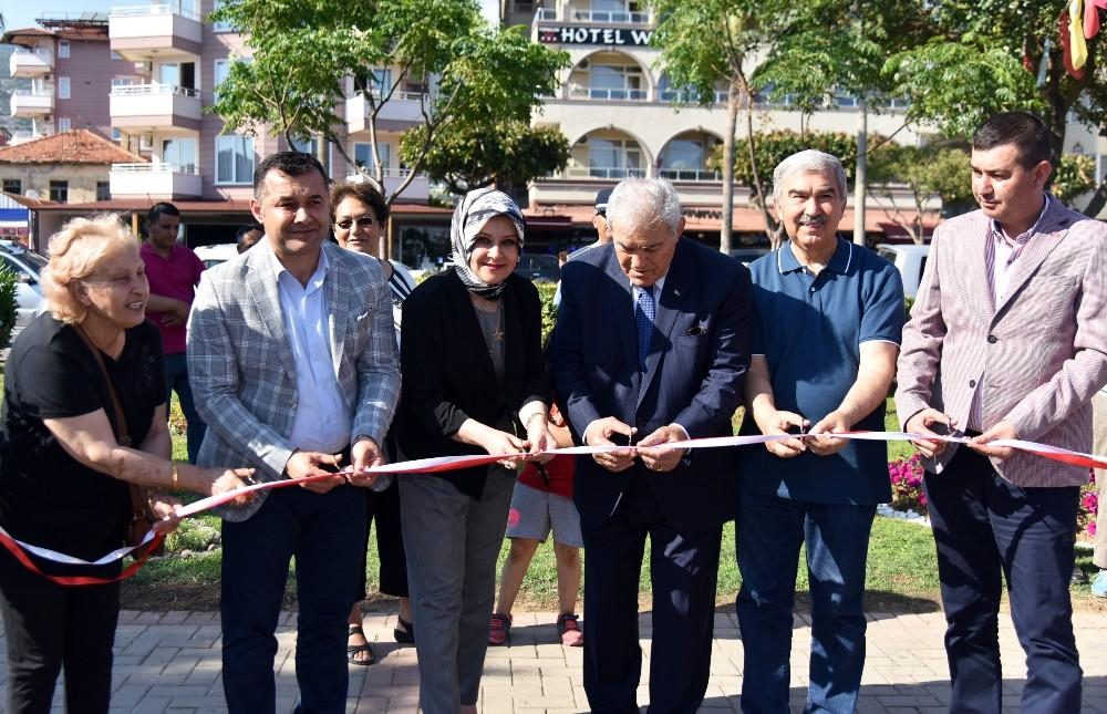 Alanya'da ikinci bahar parkı ve spor alanı'na görkemli açılış