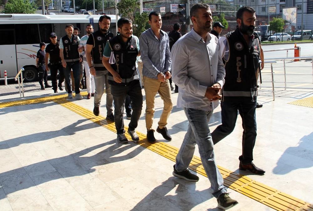 Alanya'da suç örgütüne 15 tutuklama