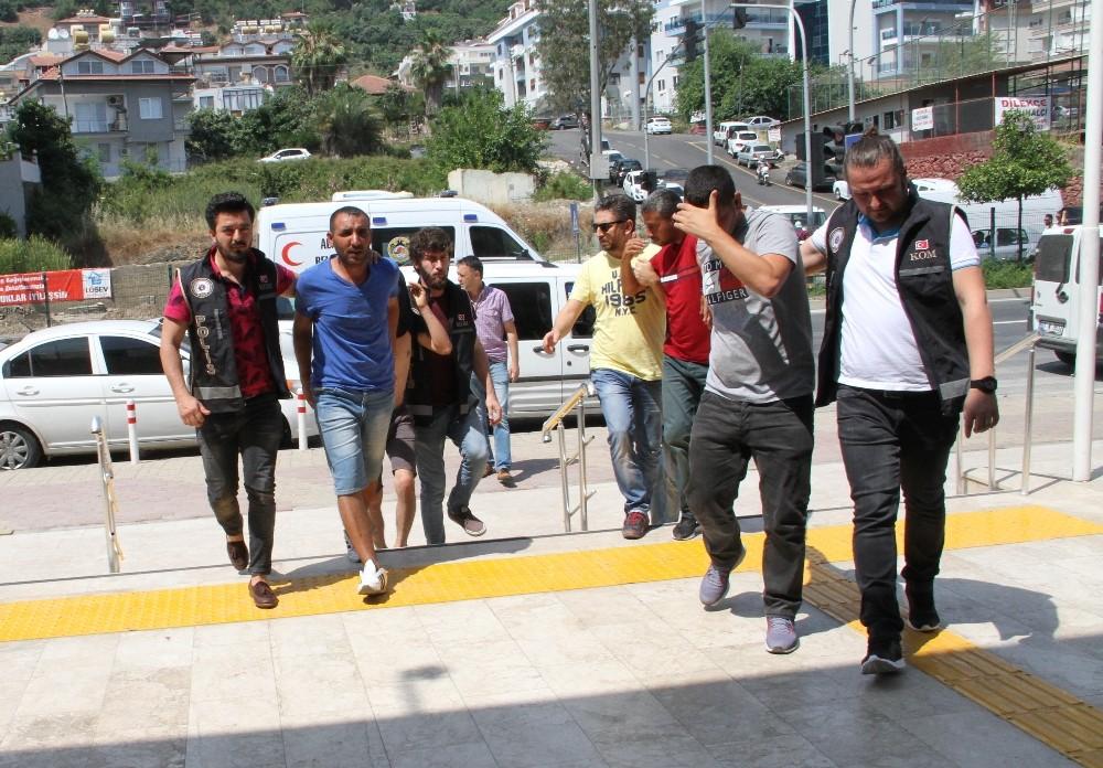 Alanya'da uyuşturucu operasyonu: 4 tutuklama