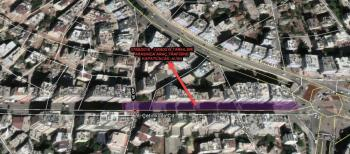 Ali Çetinkaya Caddesi 7 Mayıs'ta bir hafta süreyle trafiğe kapanacak