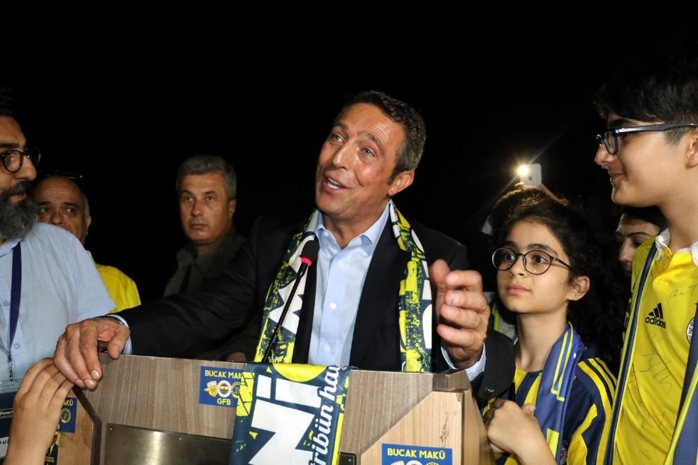 Ali Koç Antalya'da Fenerbahçeli taraftarlarla buluştu