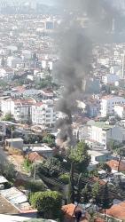 Antalya gecekondu yangını ucuz atlatıldı